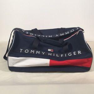 Vintage VHF Tommy Hilfiger Duffel / Gym Bag